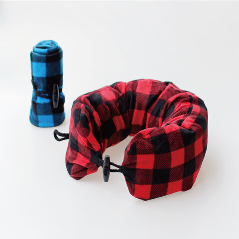 KIKKERLAND|Inflatable Neck Pillow(携帯型ネックピロー)
