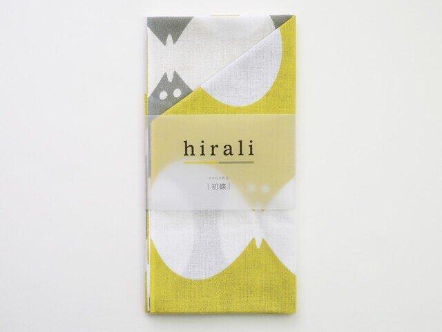 hirali|手ぬぐい かさねの色目 ~初蝶~