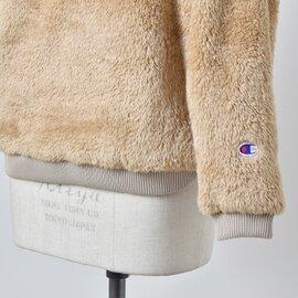 Champion スラッシュポケット付きクルーネックフリースジャケット cw-n606-yh