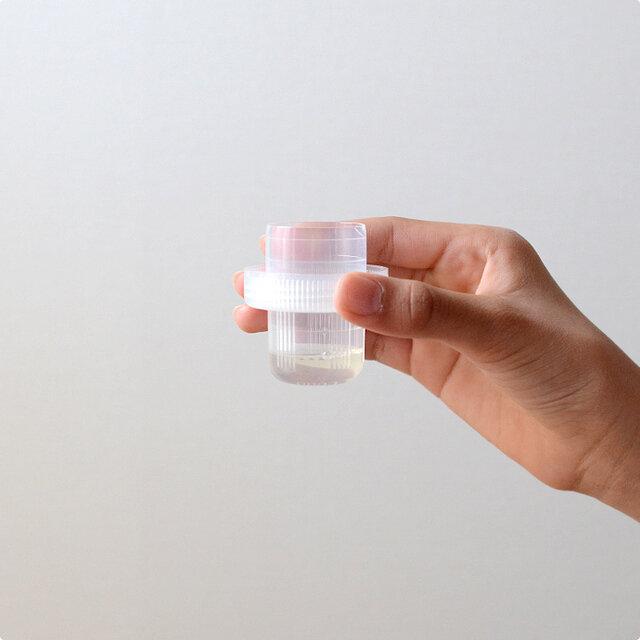 ティースプーン1杯相当の少ない洗剤量に驚くかもしれませんが、 これだけの洗剤でちゃんと汚れが落ちることにもっと驚くことと思います。