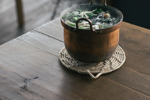 松野屋|水草鍋敷き