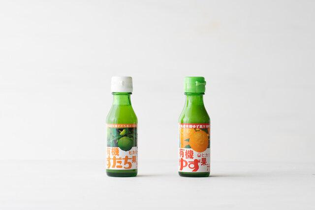 ヒカリ 有機柑橘果汁