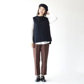 【好評につき追加生産決定】mao made|コットンニットベストインナーシャツセット 941162 マオメイド