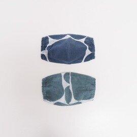 hirali 【送料無料】不織布マスク用 薄手ガーゼのマスクカバー ~牛冷やす~