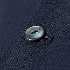 GRANDMA MAMA DAUGHTER toro|SUPER'120sウールノーカラーAラインコンパクトジャケット tj2012331-ma