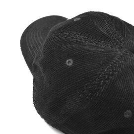 DANTON|コーデュロイロゴキャップ帽子・JD-7144LEV ダントン
