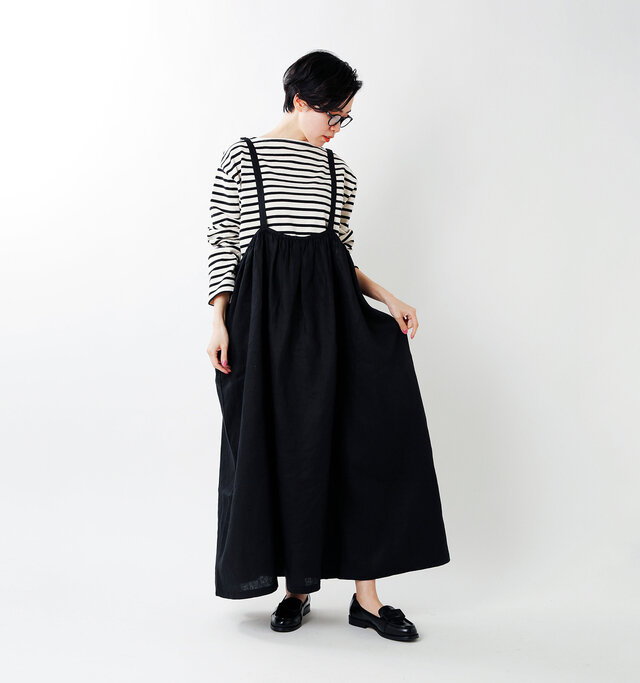 model saku:163cm / 43kg  color : black / size : 38
