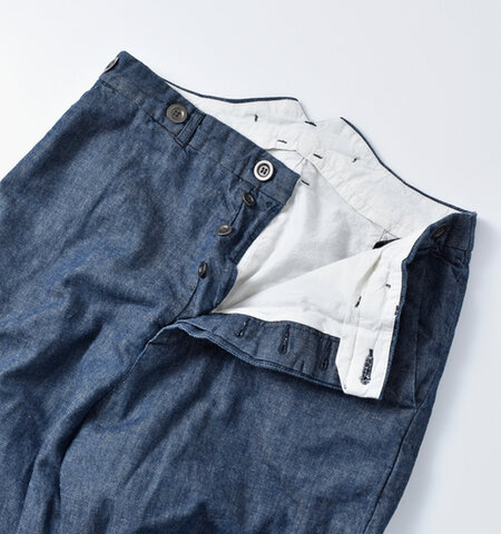 Manufactures&Co.|デニムワーカートラウザーズパンツ worker-trousers