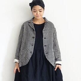 ichi Antiquités|Cotton Wool Gingham Jacket