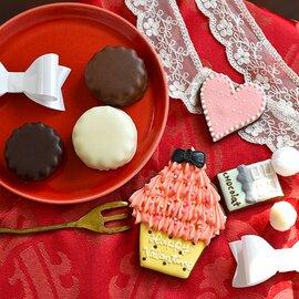Bouquet バレンタイン アイシングクッキー・マシュマロサンドセット