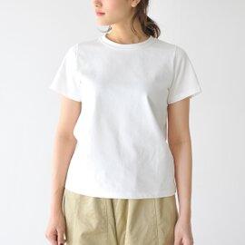 manon|SHORT SLEEVE CREW NECK TEE 半袖クルーネックTシャツ・MNN-C-001 マノン