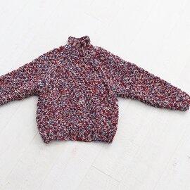 WELLDER|Melange Color Low Gauge Hand Knit