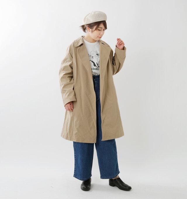 hikari 165cm / 48kg color : beige / size :1