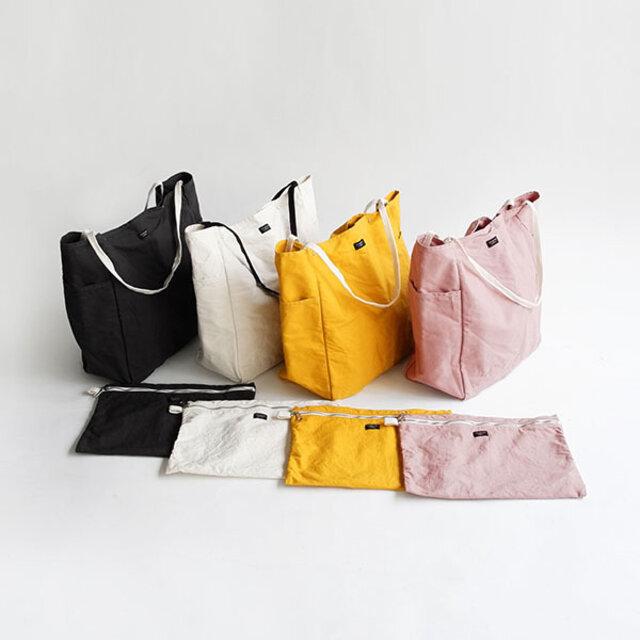 展開カラーはダークグレイ、ナチュラル、イエロー、ライトピンクの4色。 *ブルーグレイが新色として加わりました!