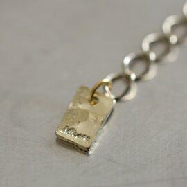"Joli&Micare ""Gold chip 2chain long necklace"" gdc0106-mk"