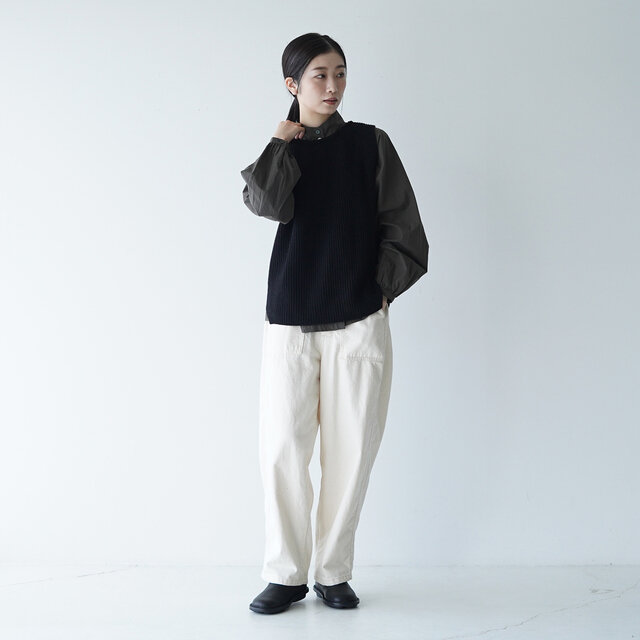 モデル: 166cm / 47kg color:black