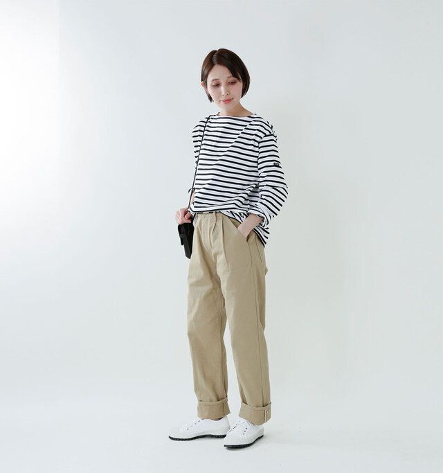color : white×navy / size : 5