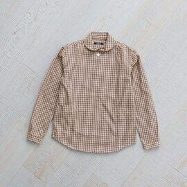 LOLO|プルーオーバーミニチェックシャツ