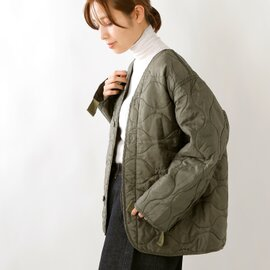 """ROTHCO M-65キルティングノーカラージャケット""""M-65 LINERS DS WASH"""" liners-dswash-yn"""