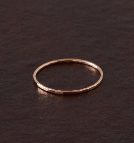Melissa Joy Manning│■14kt gold stacking rings 120223-melissa-sn