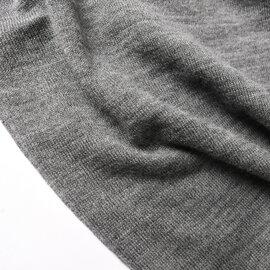 mizuiro ind|ラウンドカラーワイドシルエットワンピース shirt collar wide one-piece ドロップショルダーニットワンピ 襟付き 4-258763 ミズイロインド