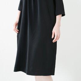 Si-Si-Si|aranciato別注 とろみフロントタックドレープドレス n-2514d-hm