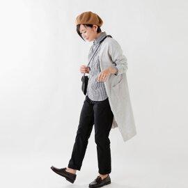 Manual alphabet|aranciato別注 ハイシルキーコットンラウンドカラーシャツ mal-ac-sh-002-tr
