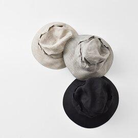 "Nine Tailor|リネンリボンバケットハット""Daffodil Hat"" n-624-ms"
