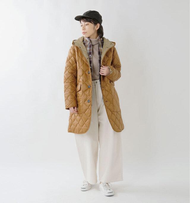 model hikari:165cm / 48kg color : new brown / size : 14