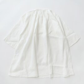 UNIVERSAL TISSU フレンチリネン monastery uniform shirt