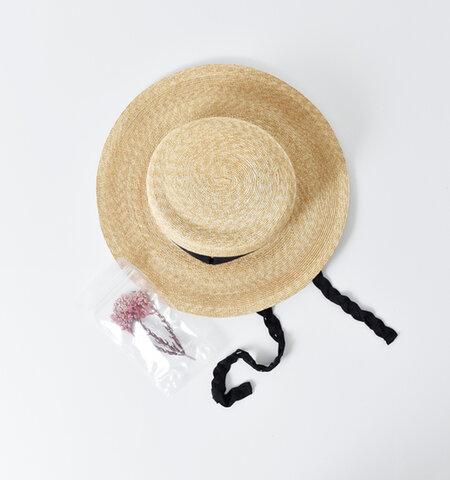 """Nine Tailor グログランリボンハット""""Fuchsia Hat"""" n-457-tr"""
