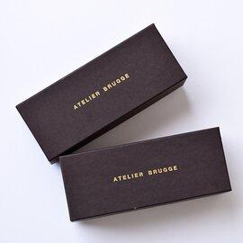 atelier brugge│aranciato別注クリアレンズボストン眼鏡/サングラス 27ss-9238-rf