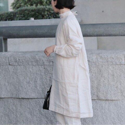 TUTIE.|【aiさんmegさんerikaさんコラボ】リネンロールカラーチュニック