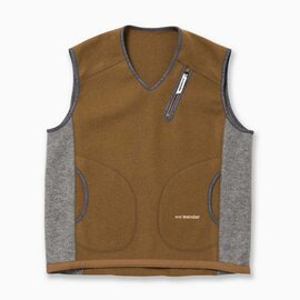 and wander|air wool vest