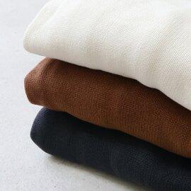 atelier naruse|cotton low gauge cocoon knit