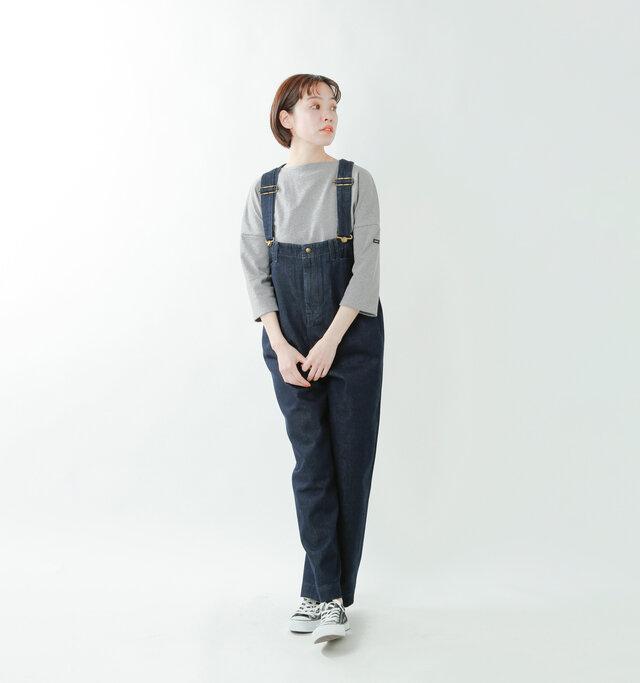 model saku:163cm / 43kg  color : gris / size : T3