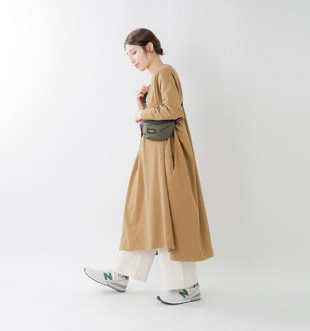 model yama:167cm / 49kg color : offwhite green