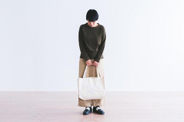 イヤマ キャンバストートバッグ