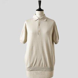 LENO|ポロカラーハーフスリーブセーター l2001-k002