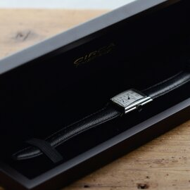 5e9f2e3cae ... CIRCA│レザーベルト×シルバーケース腕時計 ct115t-tr. Piu di aranciato
