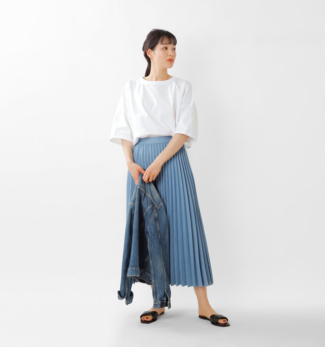 model mizuki:168cm / 50kg  color : white / size : 1