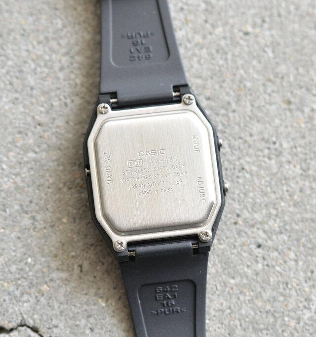 1789d66a7b CASIO|アナデジユニセックス腕時計 aw-48he-tr - Piu di aranciato(ピウ ...