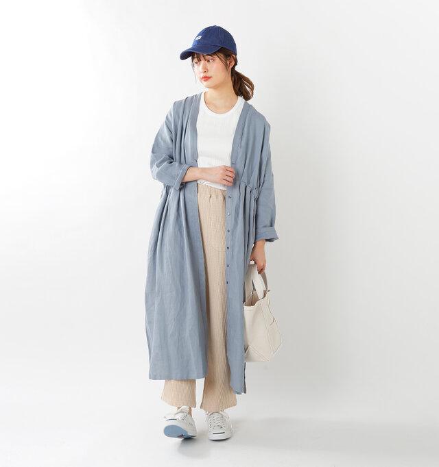 model kanae:167cm / 48kg color : matte-used / size : M