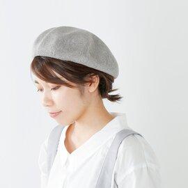 "chisaki リネンベレー帽""COMANE"" comane-fn"