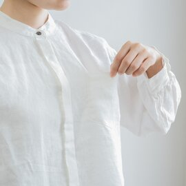TUTIE. 【aiさんmegさんerikaさんコラボ】リネンバンドカラーヒヨクシャツ