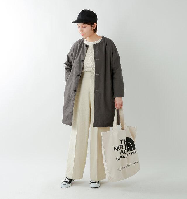 model yama:167cm / 49kg color : sumikuro / size : 0