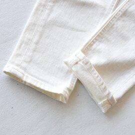 YANUK|ホワイトデニムハイウエストデニムパンツ ルース High Waist RUTH スリムデニムパンツ ボトムス 57184068 ヤヌーク