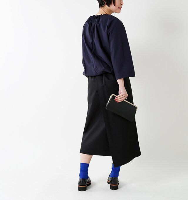 model mayu:158cm / 48kg color : blue / size : F