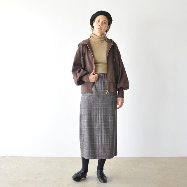 モデル:164cm / 46kg color : beige(col.10) / size : free