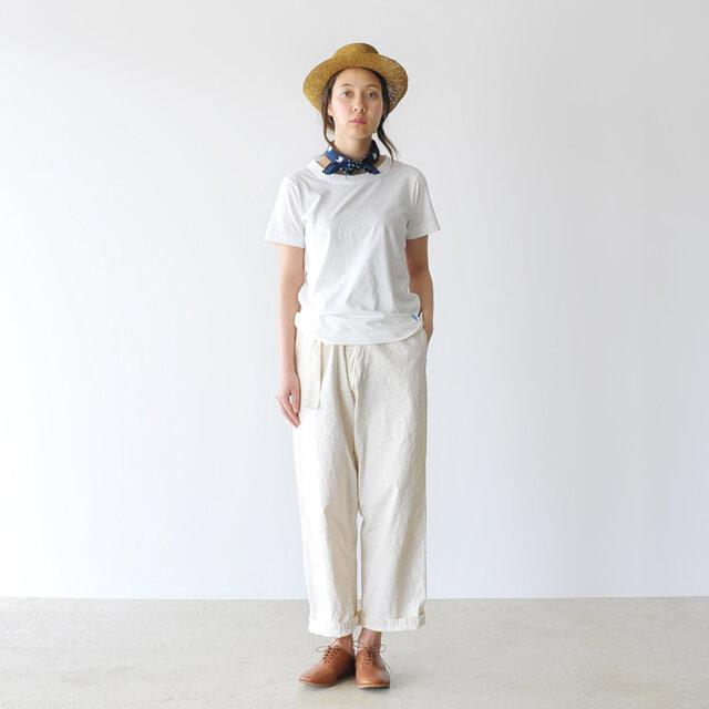 モデル:164cm / 46kg color : white / size : 0(S)
